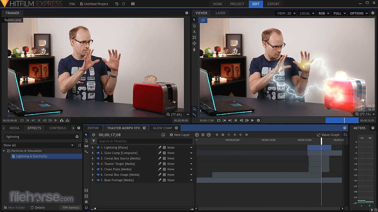 Make Complex Real Time Compositing Pipelines – Meta Morphoz