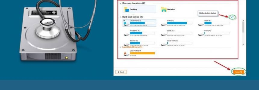 Features you will get in EaseUS data recovery software -