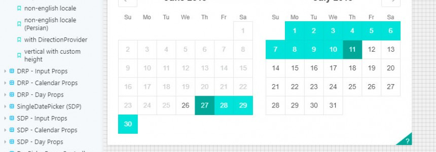 Best Open-Source Javascript Date Picker Plugins and Libraries -