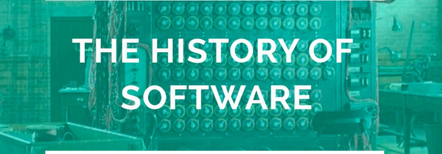 The history of software development in two minutes: a century of logic, languages and code