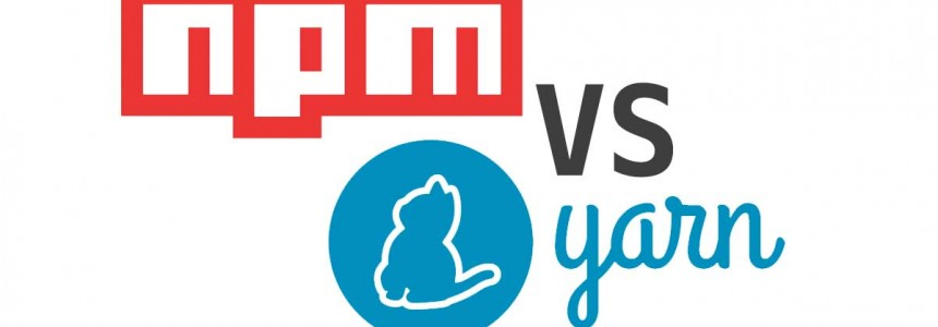 The package managers npm and yarn: main differences -