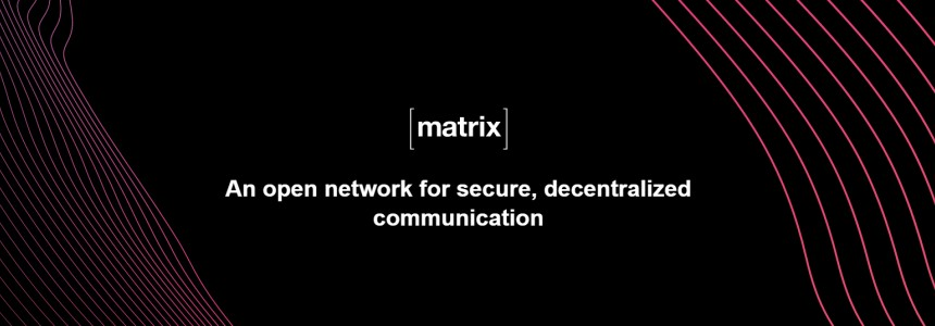 Matrix. An open network for secure and decentralized communication that you can install in your Ubuntu server -