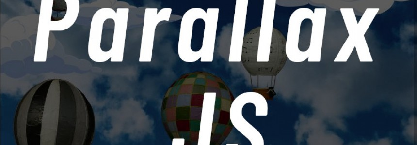 How to use Parallax.js effect on your website -