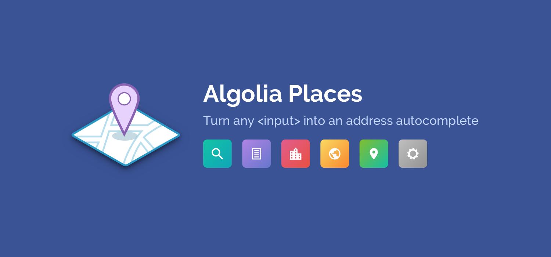logo de Algolia Places