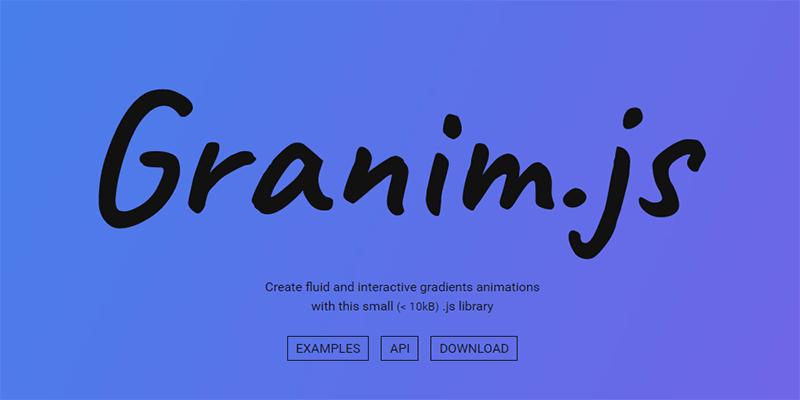Logo  Granim JS