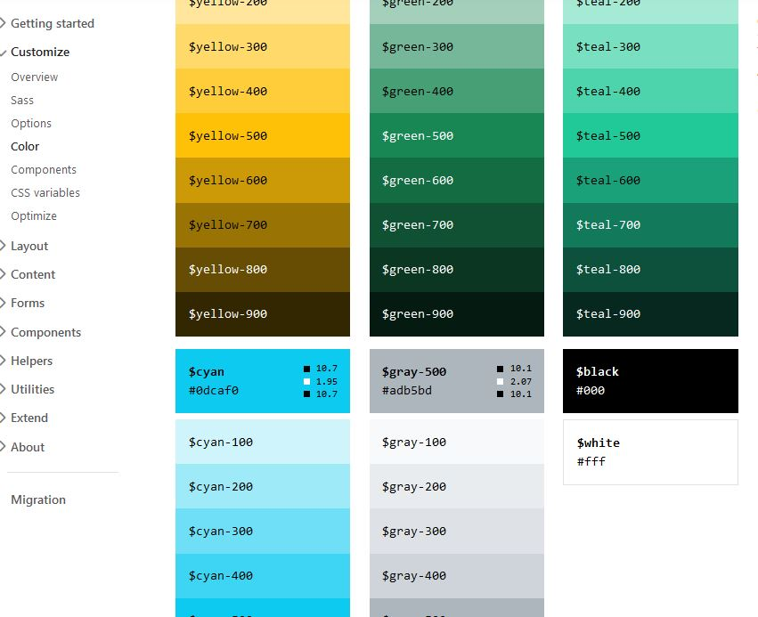 Bootstrap5_Colors