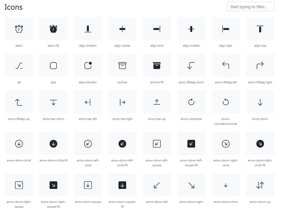 Bootstrap5_Icons_Grid